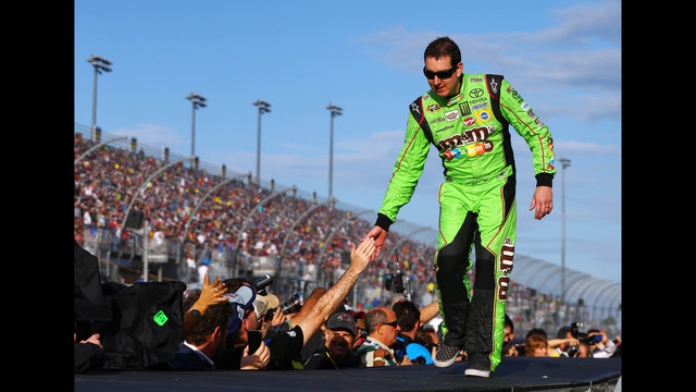 Kyle Busch win first NASCAR Sprint...