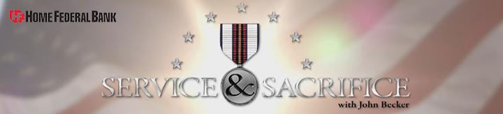 Service and Sacrifice Header