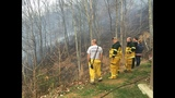 Nine fire departments responding to Sevier County brush fire