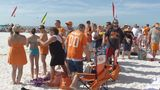 The Vols, Smokey and the band went to the beach Wed.