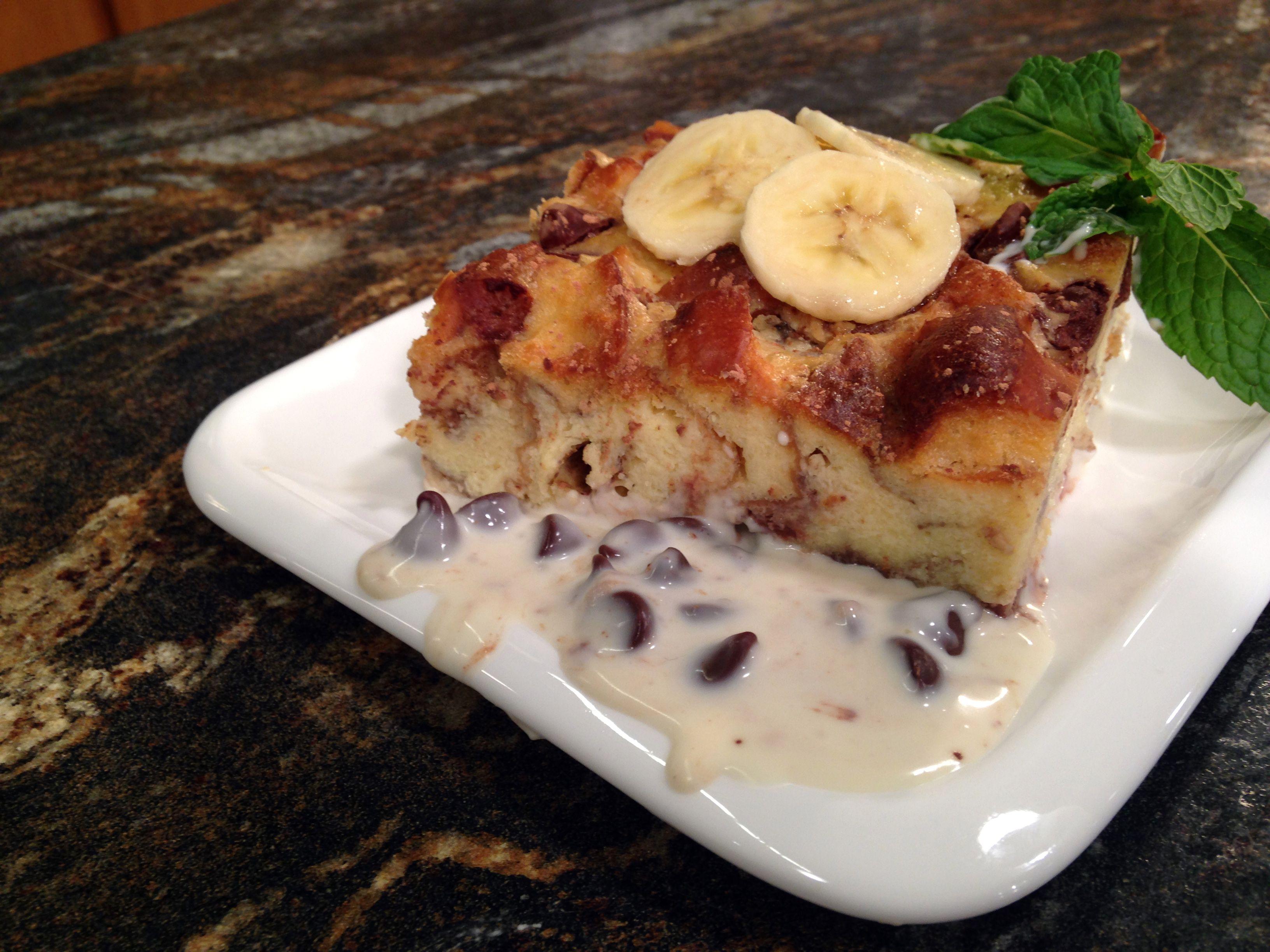 Banana Amaretto Chocolate Chip Bread Pudding | WBIR.com