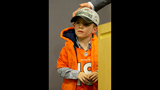 Peyton's son steals spotlight at press conference