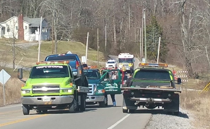 Two injured in Dry Gap Pike Wreck