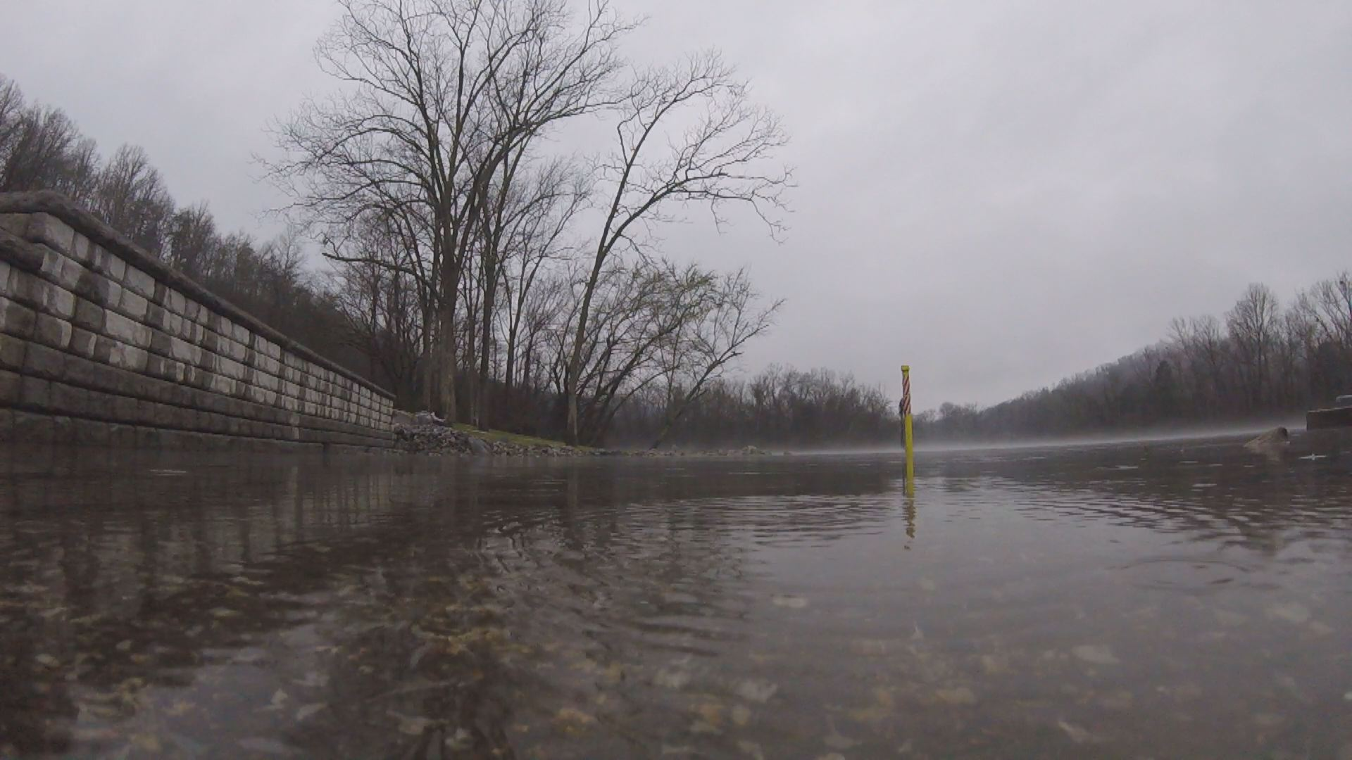 Quick action saves a life after man falls into for Clinch river fishing