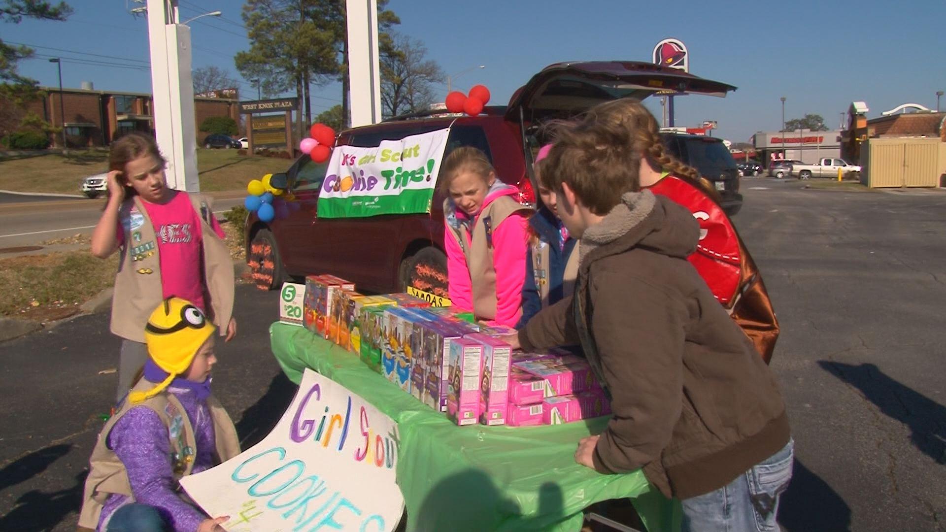 Wbir Weather And News >> wbir.com | Girl Scounts sell cookies at drive thru