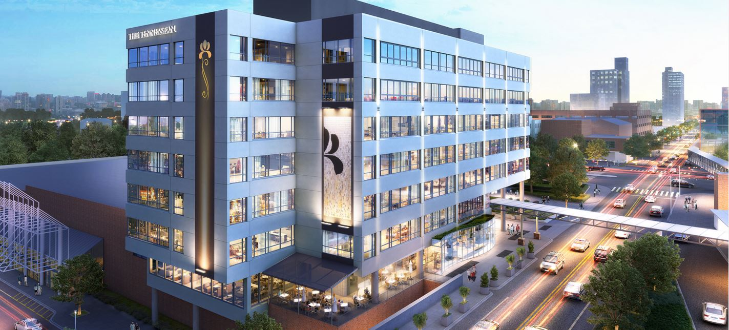 Wbir First Look Luxury Hotel And Condos To Open Near World S Fair Park In 2017