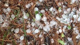 Hail and severe thunderstorms in East Tennessee