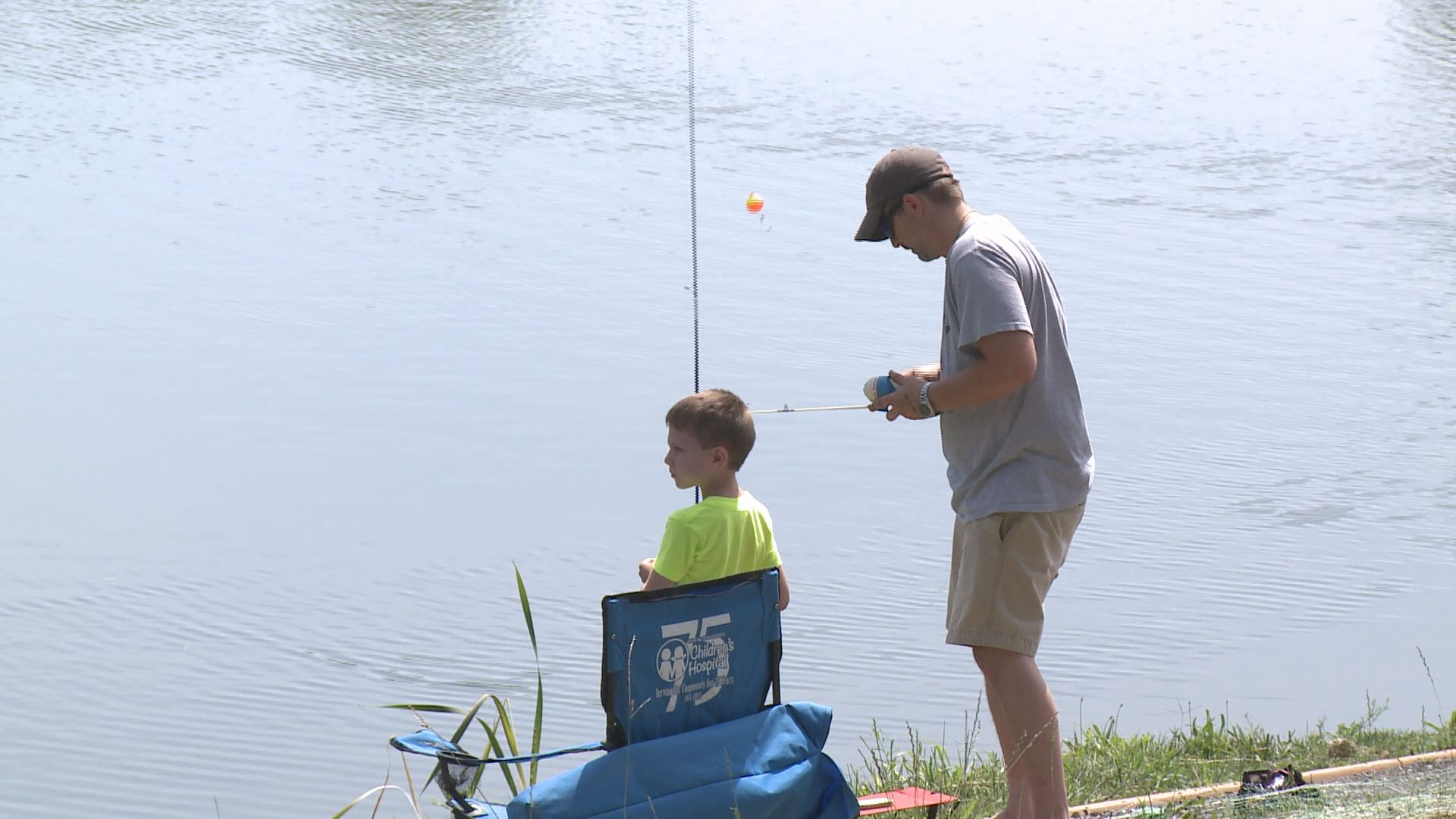 Free fishing day at the cove canceled due to for Free fishing day