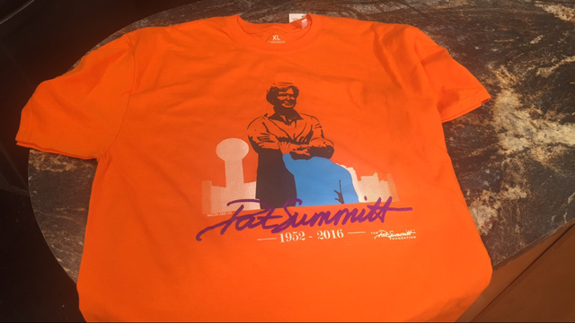 Pat Summitt Foundation T Shirts Go On Sale