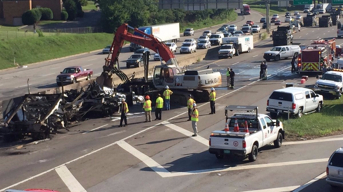 List of Synonyms and Antonyms of the Word: I-40 Crash