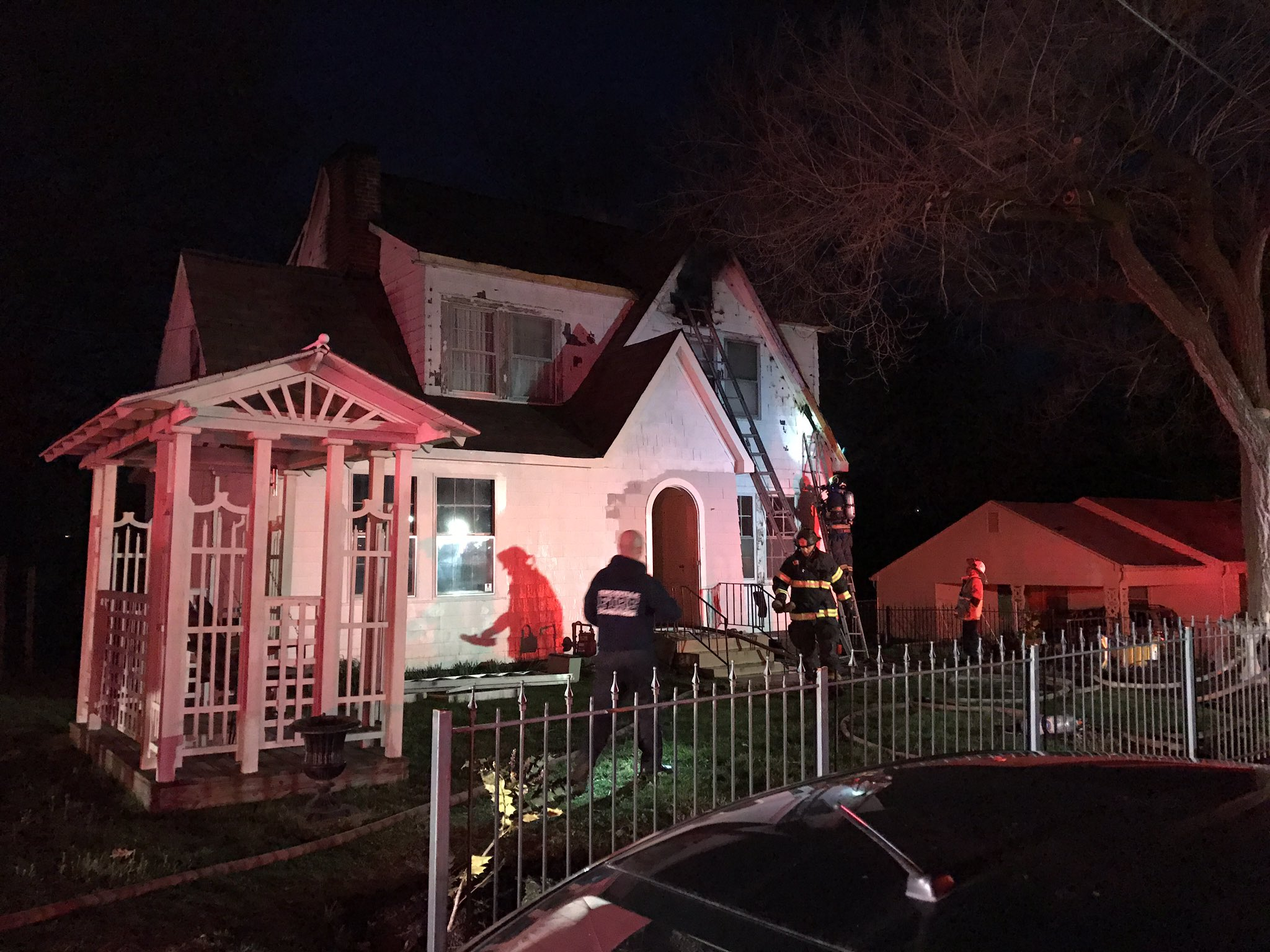 Family escapes home after attic fire - Houses attic families children ...