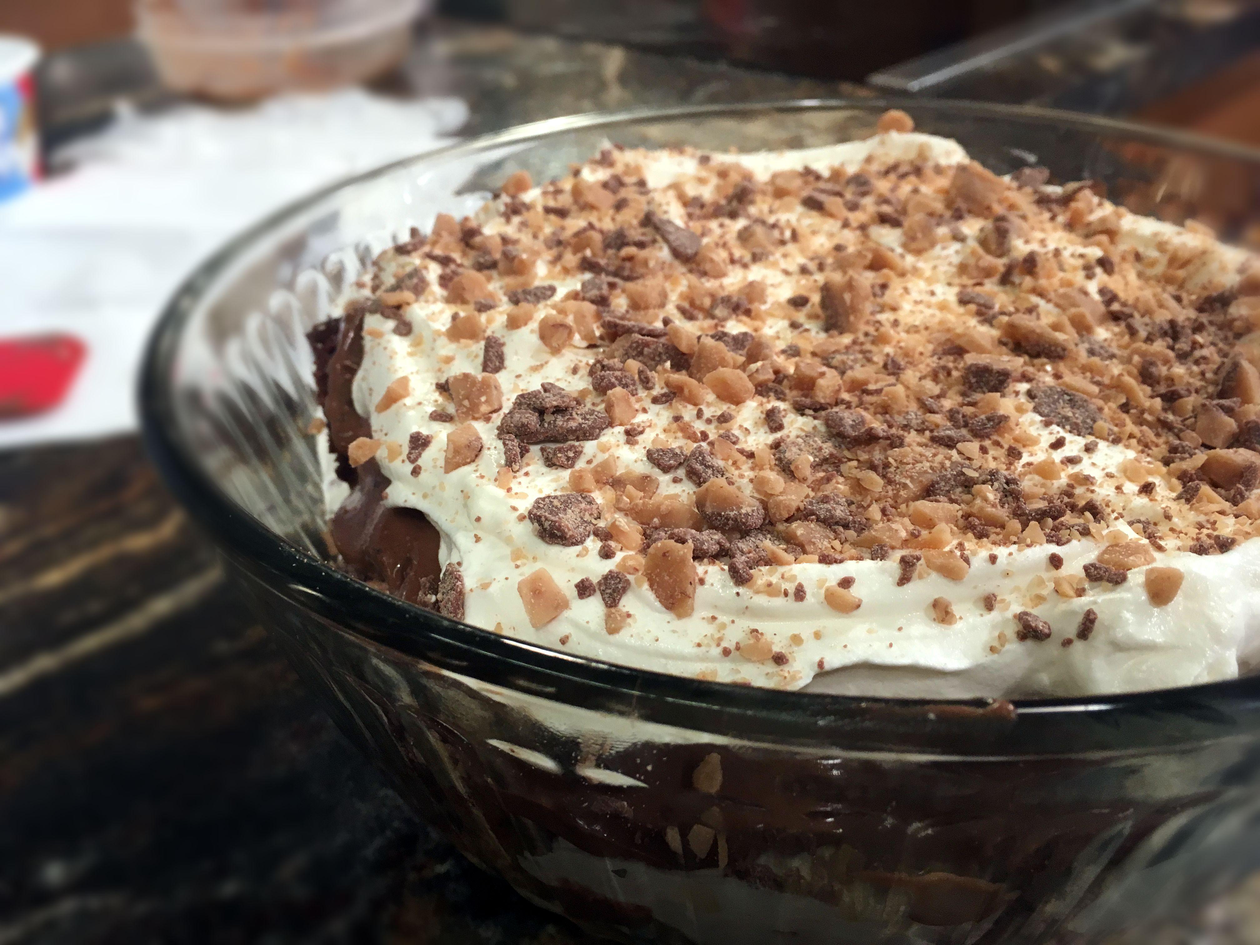 Layered Dessert Recipes With Cake Mix: Layered Kahlua Cake