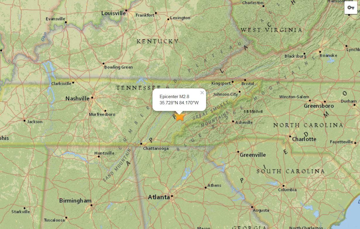 Small Earthquake Hits Near Sevierville Wbir Com