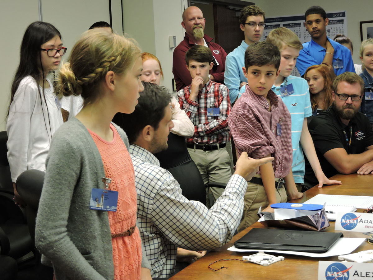 Oak Ridge students designing satellite to send on NASA mission